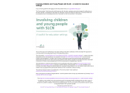 Involving Children and Young People with SLCN – A toolkit for education settings
